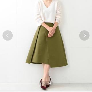 デミルクスビームス(Demi-Luxe BEAMS)のにゃあ様専用。美品!Demi-Luxe BEAMS ミモレ丈スカート(ひざ丈スカート)