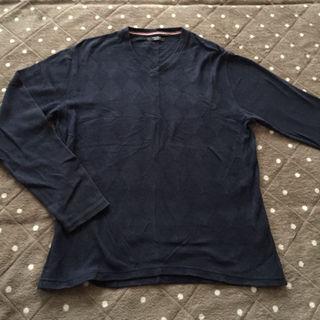 オリヒカ(ORIHICA)のORIHICA 長袖セーター/ネイビー/Mサイズ(ニット/セーター)