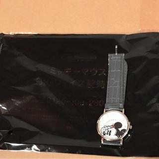 ◆新品未使用◆SPRING10月号☆ミッキーマウスBigフェイス腕時計◆(腕時計)