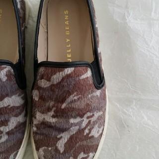 ジェリービーンズ(JELLY BEANS)の美品 JELLY BEANS 靴(スリッポン/モカシン)