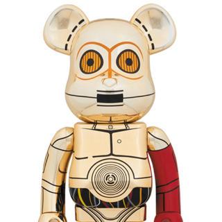 メディコムトイ(MEDICOM TOY)の【新品未開封】BE@RBRICK C-3PO 1000%(SF/ファンタジー/ホラー)