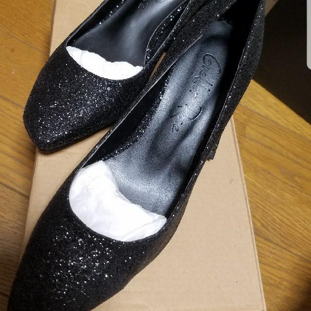 Crayme,(クレイミー)のcrayme, パンプス ブラック レディースの靴/シューズ(ハイヒール/パンプス)の商品写真