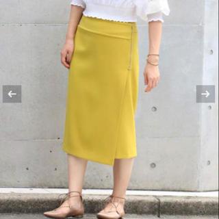 ノーブル(Noble)のNoble 新品未使用 品薄スカート(ひざ丈スカート)