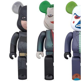 メディコムトイ(MEDICOM TOY)の【新品未開封】BE@RBRICK バットマン ジョーカー 3体セット(SF/ファンタジー/ホラー)