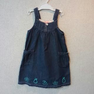 ティンカーベル(TINKERBELL)のティンカーベル子供服 ジャンパースカート(120)(ワンピース)