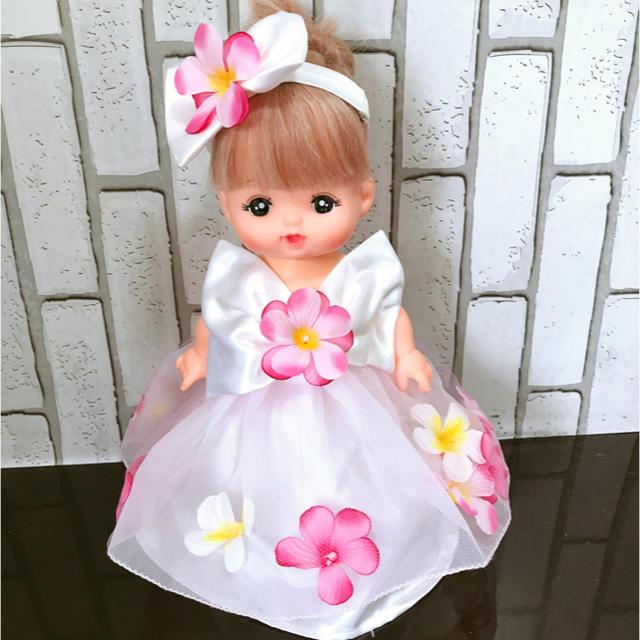 メルちゃん服❤︎お花のウェディングドレス
