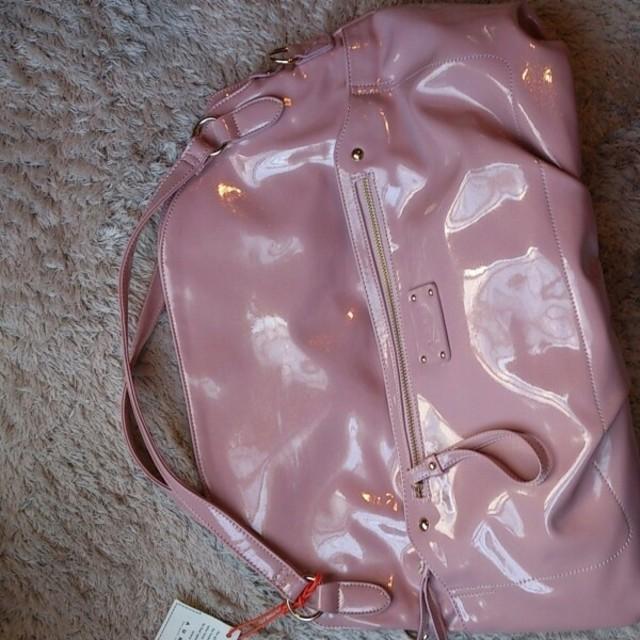 値下げ☆ピンク ショルダーバッグ レディースのバッグ(ショルダーバッグ)の商品写真