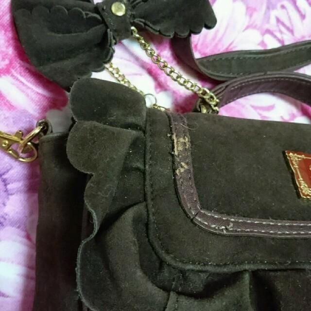 LIZ LISA(リズリサ)のLIZ LISA フリル3wayバッグ レディースのバッグ(リュック/バックパック)の商品写真