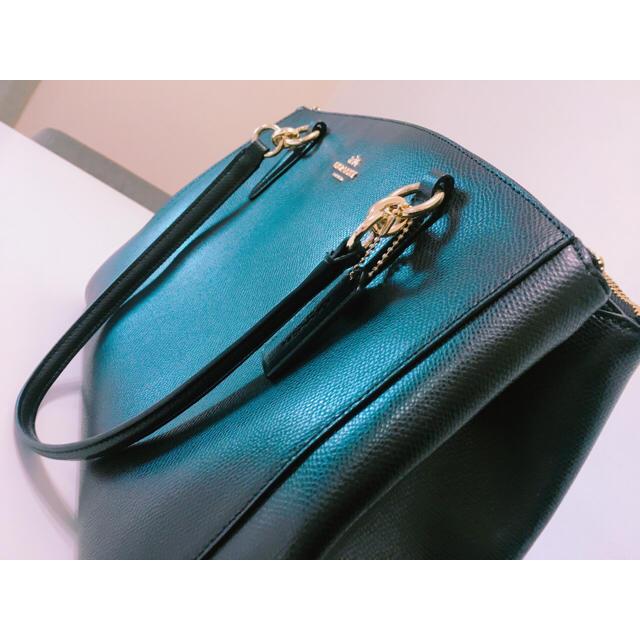 COACH(コーチ)の2wayバッグ/黒/COACH レディースのバッグ(ハンドバッグ)の商品写真