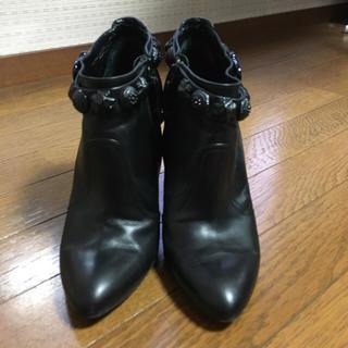 バーバリー(BURBERRY)の値下げバーバリーショートブーツ 38 美品(ブーツ)