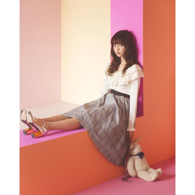 tocco(トッコ)のトッコ 完売 グレンチェックスカート レディースのスカート(ひざ丈スカート)の商品写真