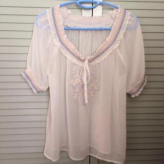 ミスティウーマン(mysty woman)のミスティウーマン♡トップス(Tシャツ(半袖/袖なし))