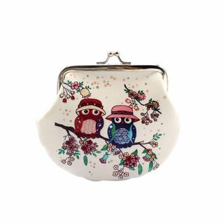 フクロウ財布♪ フクロウ小物入れ 新品未使用品 送料無料(鳥)