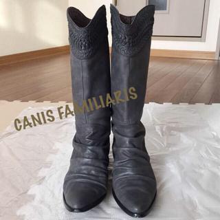 カニスファミリアス(Canis Familiaris)の☆CANIS FAMILIARIS  カニスファミリアス ミディアム ブーツ(ブーツ)