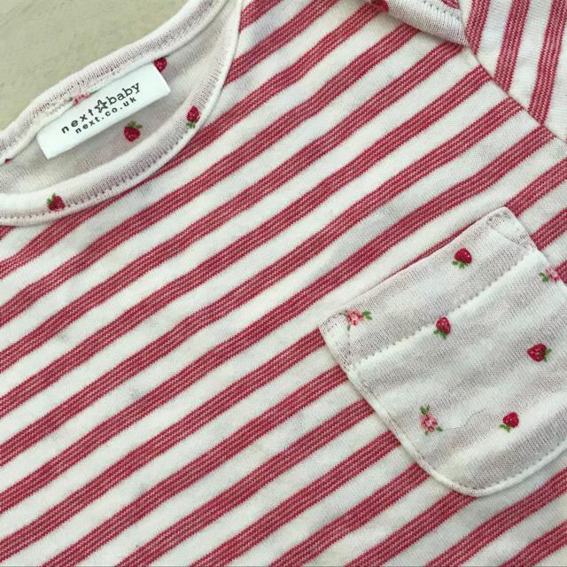 NEXT(ネクスト)のnext ネクスト ロングTシャツ&レギンス セット 9-12M 70〜80 キッズ/ベビー/マタニティのベビー服(~85cm)(シャツ/カットソー)の商品写真