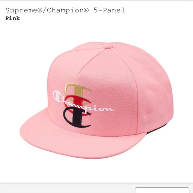 Supreme(シュプリーム)のSupreme   Champion  5-Panel  ピンク シュプリーム メンズの帽子(キャップ)の商品写真