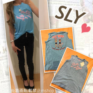 スライ(SLY)の新品♡SLY ノースリーブ(Tシャツ(半袖/袖なし))