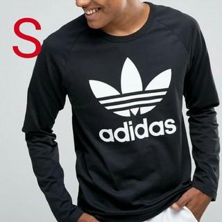 アディダス(adidas)の新品・未使用・タグ付[S]adidas LONG SLEEVE TEE(Tシャツ/カットソー(七分/長袖))