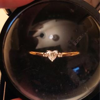 ポンテヴェキオ(PonteVecchio)のめりーぷ様ポンテヴェキオ K18ハートシェイプダイヤモンドリング(リング(指輪))