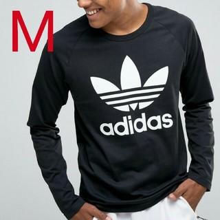 アディダス(adidas)の新品・未使用・タグ付[M]adidas LONG SLEEVE TEE(Tシャツ/カットソー(七分/長袖))