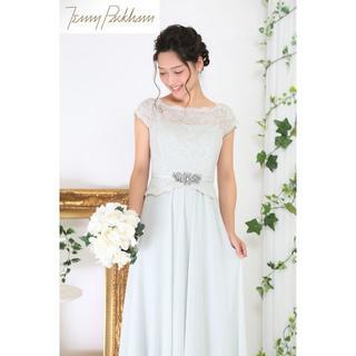 【新品✨】jenny packhamジェニーパッカム ビジュー付きロングドレス(ウェディングドレス)