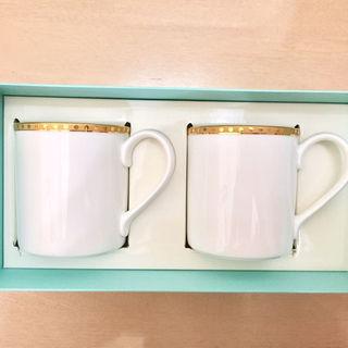 ティファニー(Tiffany & Co.)のlala☆様専用 ティファニー ゴールド マグ ペア マグカップ(グラス/カップ)