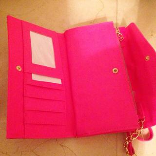 Victorias Secret(ヴィクトリアズシークレット)のヴィクトリアズシークレットピンク長財布 レディースの