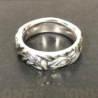 ロンワンズ(LONE ONES)の新品 LONE ONES ラブバイトリング ウィズ ダイヤモンド US8.5号(リング(指輪))