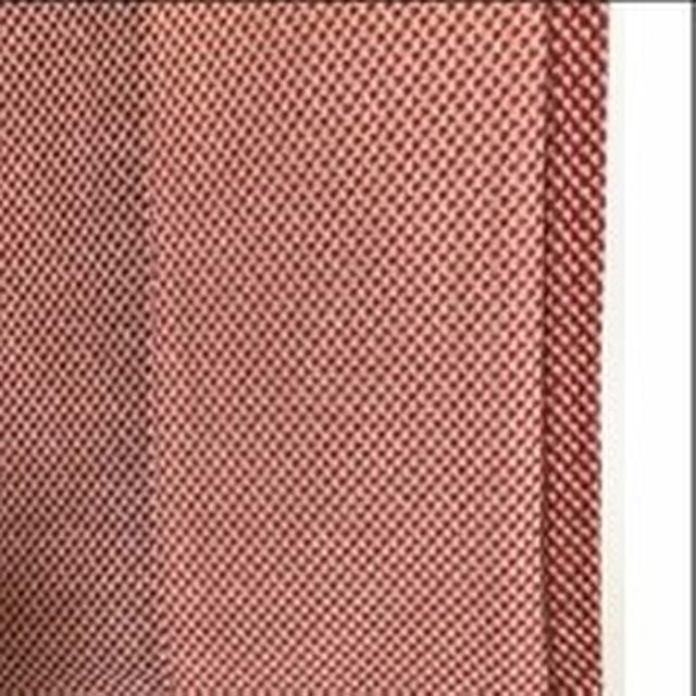 【送料無料】正絹小紋145/58.5 赤 単衣のお着物 #437 レディースの水着/浴衣(着物)の商品写真