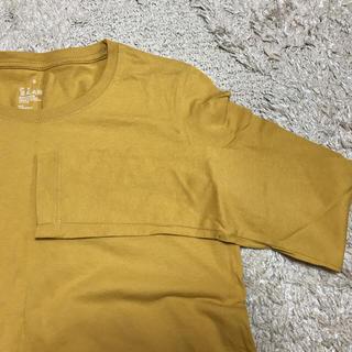 ムジルシリョウヒン(MUJI (無印良品))の無印良品 からし色Tシャツ 長袖(Tシャツ(長袖/七分))
