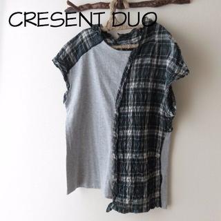 クレッシェント(CRESCENT)のCRESCENT DUO クレッシェント デュオ Tシャツカットソー(Tシャツ(半袖/袖なし))