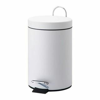イケア(IKEA)のIKEA ペダル式ゴミ箱, ホワイト,3 l  (ごみ箱)