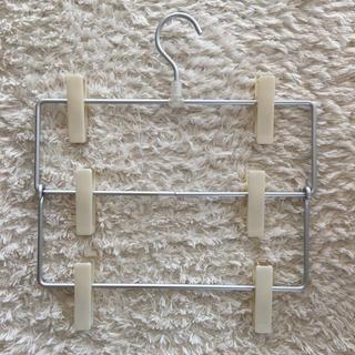 ムジルシリョウヒン(MUJI (無印良品))の無印 スカートハンガー ハンガー スカート ズボン MUJI (押し入れ収納/ハンガー)