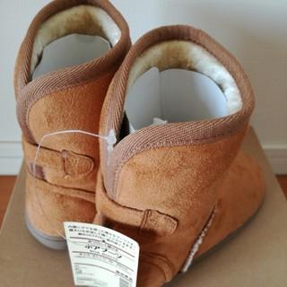 ムジルシリョウヒン(MUJI (無印良品))の無印良品 キッズ ボア ブーツ 19 20(ブーツ)