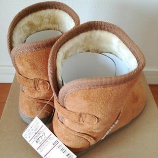 ムジルシリョウヒン(MUJI (無印良品))の無印良品 キッズ ボア ブーツ 18 19(ブーツ)
