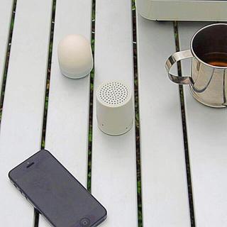 ムジルシリョウヒン(MUJI (無印良品))の【新品】MUJI ダイヤル式 Bluetooth スピーカー(スピーカー)