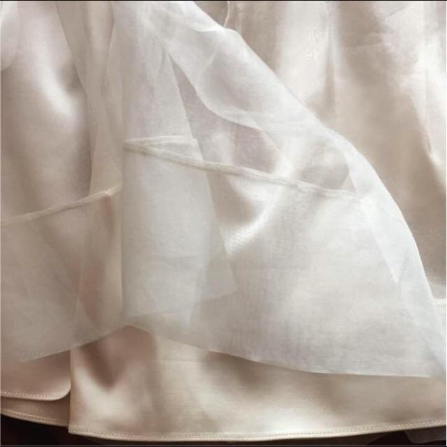 MERCURYDUO(マーキュリーデュオ)のマーキュリーデュオ チュールプリーツスカート Mサイズ レディースのスカート(ミニスカート)の商品写真