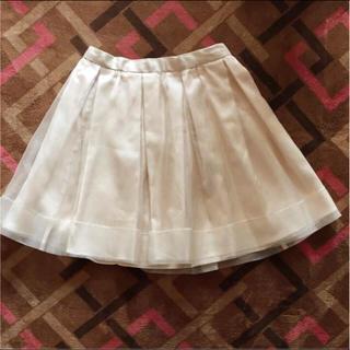 マーキュリーデュオ(MERCURYDUO)のマーキュリーデュオ チュールプリーツスカート Mサイズ(ミニスカート)