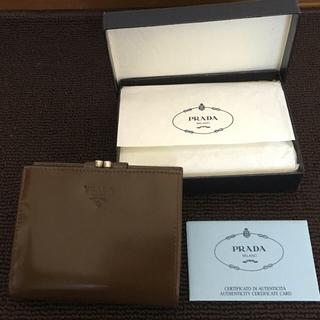 プラダ(PRADA)のプラダ二つ折財布(財布)