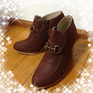 ミスティウーマン(mysty woman)の【送料込み】★mystywomen秋靴★(ブーツ)