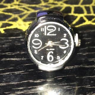 新品未使用時計リング‼️値下げします❗️(リング(指輪))