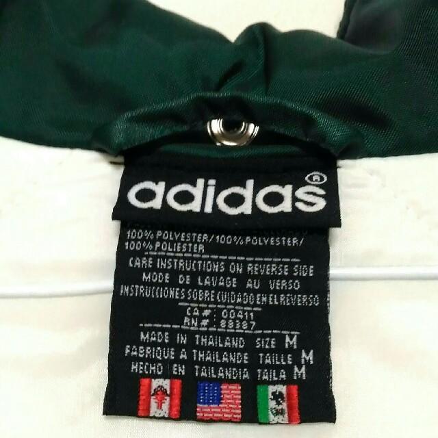adidas(アディダス)の【美品】adidas ベンチコート スポーツ/アウトドアのサッカー/フットサル(ウェア)の商品写真