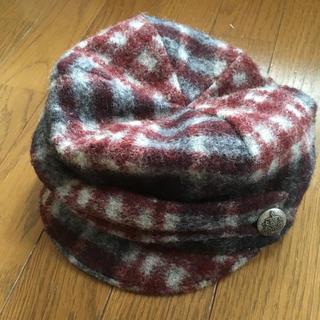トゥモローランド(TOMORROWLAND)の新品☆トゥモローランド ウール製(ハンチング/ベレー帽)