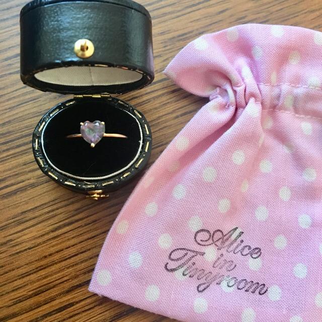 【12/1まで まみ様専用】Alice in tinyroom ドロシーリング  レディースのアクセサリー(リング(指輪))の商品写真