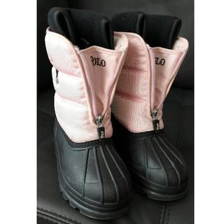 ポロラルフローレン(POLO RALPH LAUREN)のnmisako様専用ポロラルフローレン スノーブーツ17cm(長靴/レインシューズ)