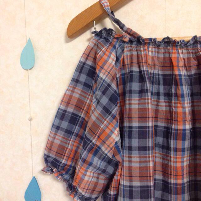 SM2(サマンサモスモス)のehka sopo 2wayオフショル レディースのトップス(シャツ/ブラウス(半袖/袖なし))の商品写真