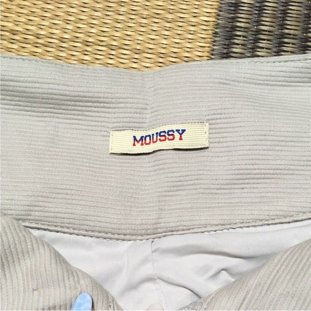 moussy(マウジー)のMOUSSY✴︎ハイウエストショーパン レディースのパンツ(ショートパンツ)の商品写真