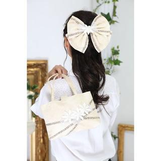 【新品、日本製】*和装用*バック&ヘッドドレスセット*成人式・お茶会に(その他)