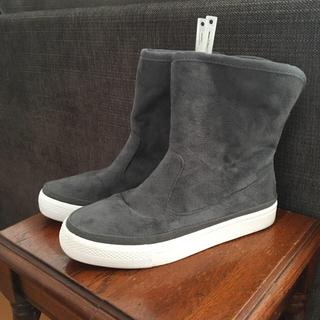 ムジルシリョウヒン(MUJI (無印良品))の無印良品 グレーブーツ(ブーツ)
