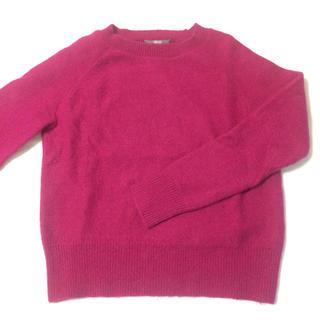 ユニクロ(UNIQLO)のUNIQLO セーター ピンク S(ニット/セーター)